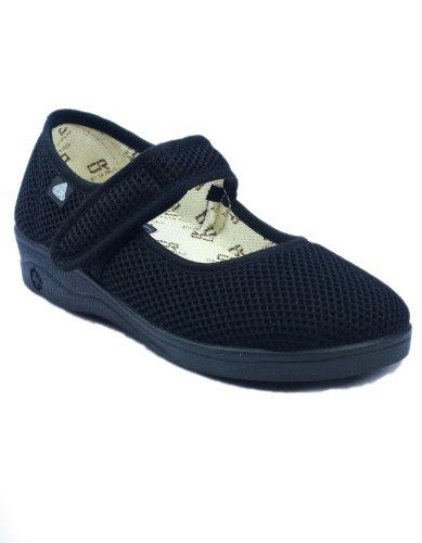 Mirak Celia Ruiz 204Tela Dolly scarpe/scarpe da donna, nero (Black), 35.5