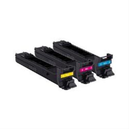Konica Minolta A0DKJ51 - MC4650 TONER VALUE KIT (C M Y 4K) -