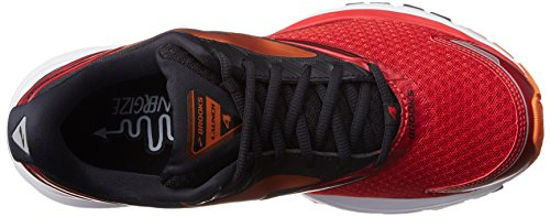 Brooks Launch 4, Chaussures de Course Homme Rouge (Highriskred/black/orangepeel)