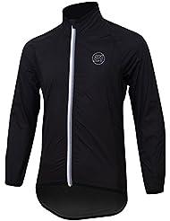 21Virages Kid 's Halo de bicicleta lluvia chaqueta, todo el año, color Negro - negro / negro, tamaño 12 Years Years