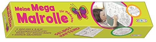 Meine Mega-Malrolle für Mädchen: Malspaß ohne Ende (Malrollen)