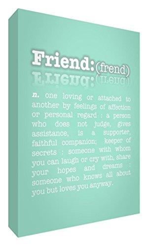 Feel Good Art el significado de la Galería de amistad Envuelto de diseño con...