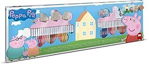 MULTIPRINT Peppa Pig - Juegos de Sellos para niños, Caucho, Madera, 3 año(s), Italia, 860 mm, 30 mm