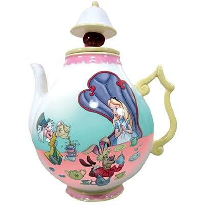 Westland contemporain 8Théière en céramique, 35-ounce, Disney Alice au pays des merveilles
