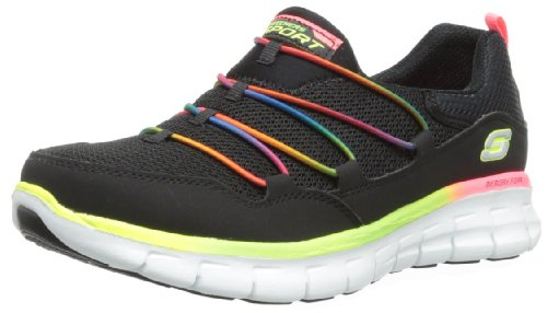 Skechers Synergy Loving Life, Sneaker Donna Black/Multi