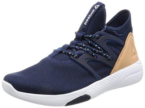 Reebok Hayasu, Sneaker a Collo Basso Donna Blu (Collegiate Navy/White/Veg Tan)