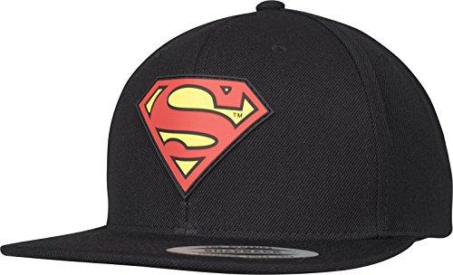 Superman Damen / Herren Flexfit Snapback Kappe Unisex Logo Baseball-Cap Erwachsene