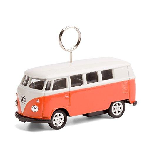 corpus delicti :: VW Bus - Karten- und Fotohalter auf Rädern (orange)