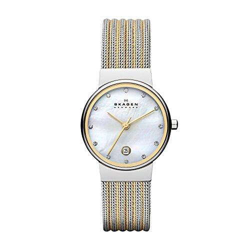 Skagen Damen-Uhren 355SSGS