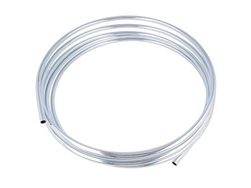 tecuro Cu-Rohr Kupferrohr zur Sanitärinstallation - verchromt Ø 10 mm Ring mit 5,00 m