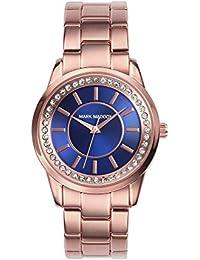Mark Maddox MM0007-37 - Reloj de cuarzo para mujer, correa de otros materiales color oro rosa
