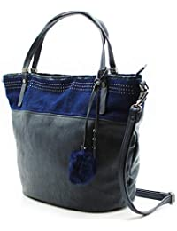 MISEMIYA - Bolsos para mujer bolso shopper bolso de mano SR-PF532
