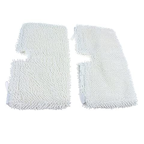 Radvac Steam Cleaner Microfibre All purpose Cleaning Pads Compatible With Shark S3501, S 2 by Radvac