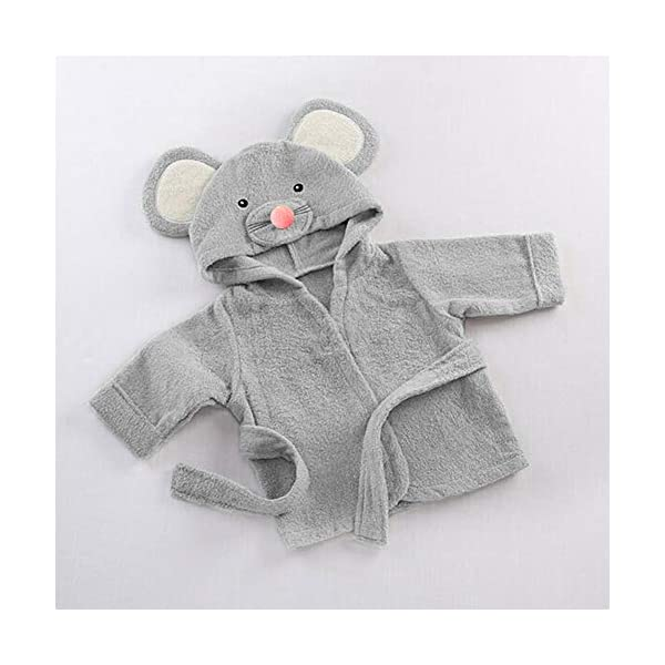 Pijama de dibujos animados para bebé (gris) small gris 2
