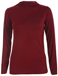 FASHION BOUTIQUE Top and Long Sleeve Polo Turtle Neck For Women For