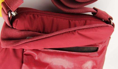 Mandarina Duck , Sac pour femme à porter à l'épaule - - Rot - Rosso, 2ZT05030 25x28x10 cm EU - Rot - Rosso