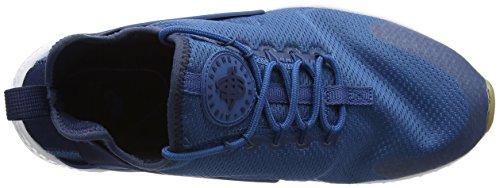 Nike Wmns Air Huarache Run Ultra, Scarpe da Ginnastica Donna Blu (Industrial Blue/Midnight Navy/White)