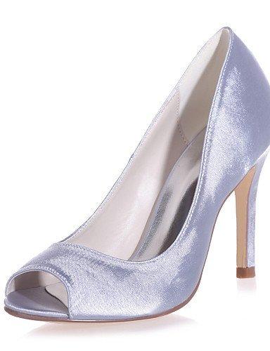 ShangYi Chaussures Femme - Mariage / Décontracté / Soirée & Evénement - Noir / Bleu / Rouge / Ivoire / Blanc / Argent / Champagne - Talon Aiguille Black