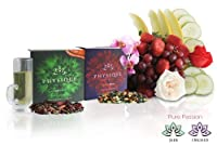Physique Tea Craving Control Value Pack - Jade & Orchid | Natural Weight Management Tea with Digestive Aid | Craving Control | Mood Elevation | Antioxidants - 30 Silk Tea Bags