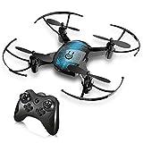 GBlife Drohne für Anfänger, Mini RC-Quadrocopter 2.4 GHz 4-Kanal 6 Achsen Quadrocopter Ferngesteuert Spielzeug 360° Flip EIN-Tasten-Rückkehr/Start/Landung Kopflos-Modus für Kinder ab 14 Jahre Blau