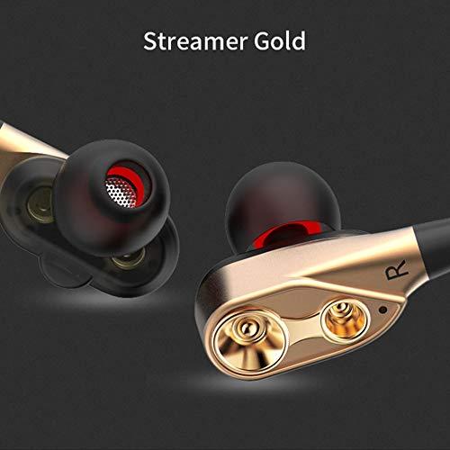 Kabelgebundene CK8-Dual-Driver-Ohrhörer Dual-Dynamic Flexible Cable Speaker -