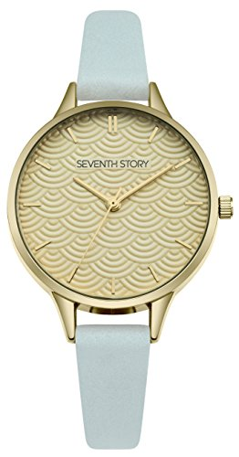 Seventh Story Damen-Armbanduhr (Art Vintage Deco Modeschmuck)