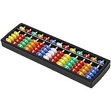 Lucky Will Niños Multicolor Plástico ábaco Abacus soroban Tool Herramienta de cálculo Rastrillo Marco de regla de cálculo