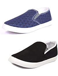 CAIRÖ Stylish Casual Shoes For Men (Combo Pack Of 2 Loafers)