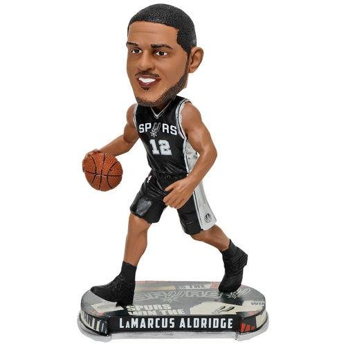 FOCO San Antonio Spurs Aldridge L. #12 Headline Bobble - San Antonio Spurs-bean-bag