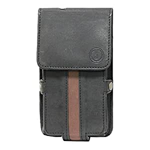 Jo Jo A6 Nillofer Series Leather Pouch Holster Case For ZTE Nubia X6 Black Brown