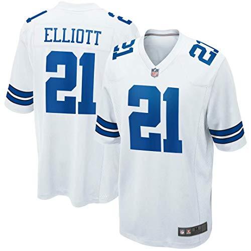 Outerstuff Herren Ezekiel Elliott Dallas Cowboys Game Trikots #21-Weiß