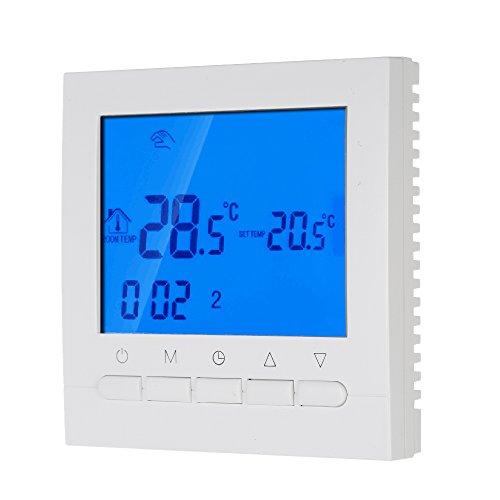 Heatmiser Noir neostat-e 230V programmable thermostat pour /électrique sous plancher chauffage