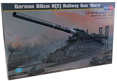 Hobby Boss 82911 Modellbausatz German 80cm K(E) railway gun Dora von Hobby Boss