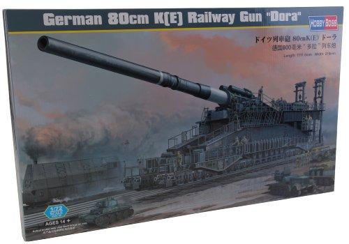 Hobby Boss 82911 Modellbausatz German 80cm K(E) railway gun Dora