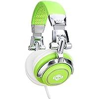 Pronomic SLK-40GR Cuffie StudioLife verde neon incl. adattatore 3,5/6,5 mm