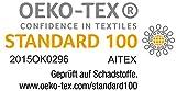 2er Pack Saunatücher Julie Julsen in vielen Farben reine Baumwolle Qualität 500 gsm Strandtuch Silbergrau 80 x 200 cm - 3