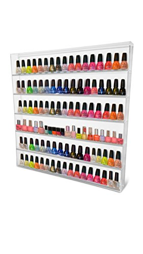 Oi labelstm Grand Vernis à ongles/vernis Support mural en acrylique transparent