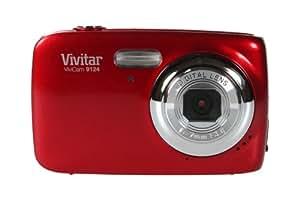 Vivitar V9124-RH-BOX-INT Appareil photo numérique 2,4'' 9,1 Mpix Rouge
