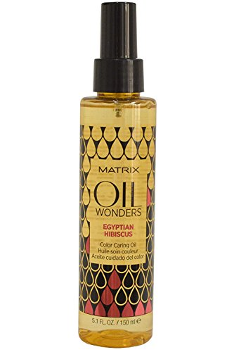 Matrix Oil Wonders Egyptian Hibiscus Color Caring Oil, 1er Pack (1 x 150 ml)