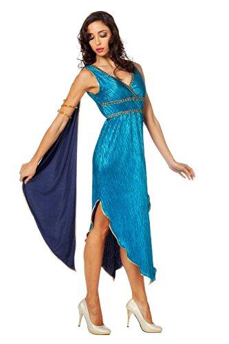 Athene Göttin Kostüm - Wilbers 4444 Griechische Göttin Athene Mythologie Antike Karneval Fasching Kostüm Damen 40
