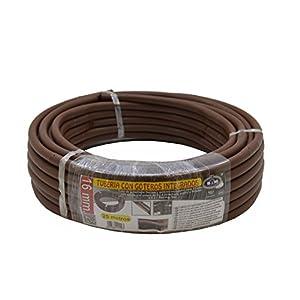 S&M 544293 Manguera de riego Flexible con goteros Integrados 16 mm 0,33 m x 25 m, Color marrón, 40.00×40.00×10.00 cm