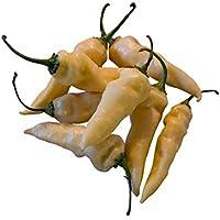 Rare White Naga Bhut Jolokia (Ghost Pepper) Seeds x 10