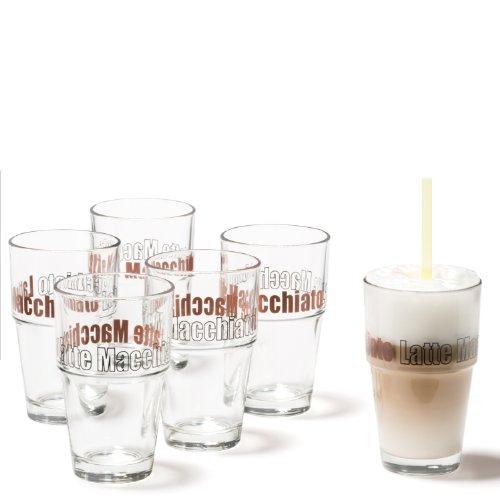 Leonardo 086583 Set Becher Solo Latte Macchiato 6-teilig