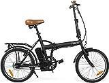 i-Bike I- Fold Easy, Bicicletta Elettrica Pieghevole, Unisex - Adulto, Nero, Taglia Unica