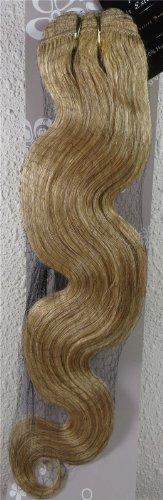 55,9 cm Blond Cendre (# 24) Body Wave Remy trames de cheveux vierges – Tissage 100% Cheveux Humains vierges brut