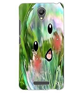 ColourCraft Funny Bubble Design Back Case Cover for XIAOMI REDMI NOTE 2 PRIME