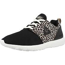 Le coq Sportif TOULOUSE MID 01041027.25Y - Zapatillas de deporte de cuero para mujer, color negro, talla 41
