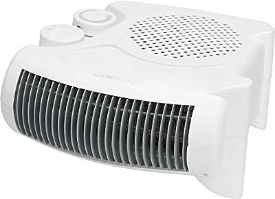 Heizlüfter mit regelbaren Thermostat Ventilator Heizgerät Elektroheizer 2 Heizstufen 2 Stellvarianten (leistungsstarke 2000 Watt + Überhitzungsschutz) von Clatronic bei Heizstrahler Onlineshop