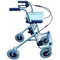 Rollator mit Einhandbremse - links oder rechts wählbar (Bremse Links)