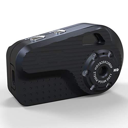 GJJ HD 1080P-S3 Kompaktkamera Digital-DV Kleine Kamera Mini-Kamera,Schwarz,A